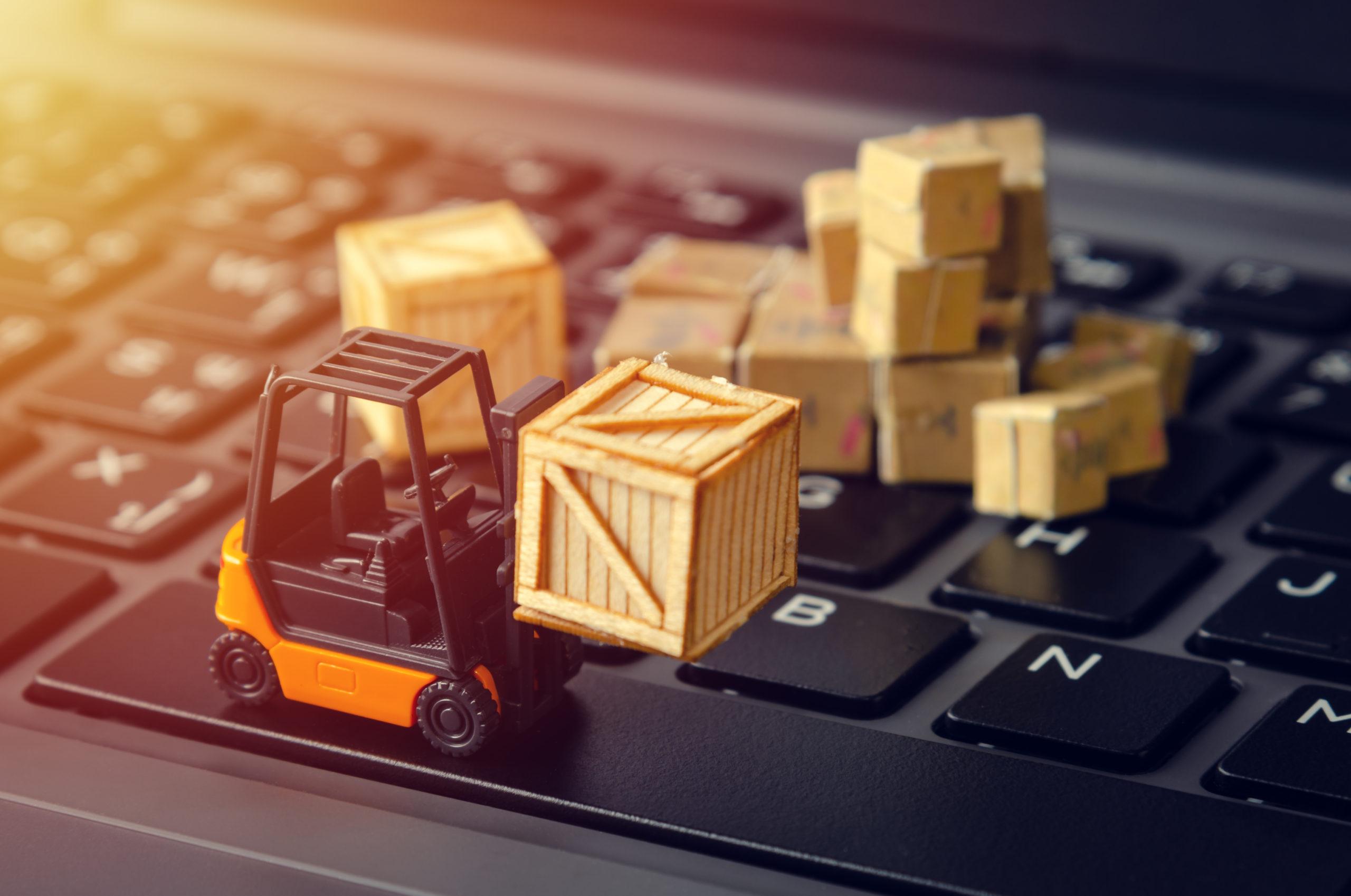 Réception marchandises e-logistique - Expedi